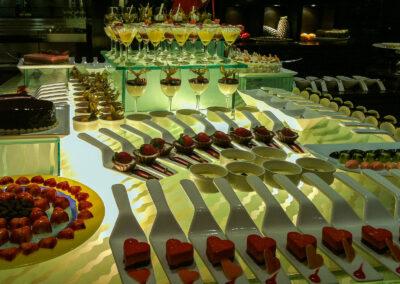 Buffet at Taj Lands End