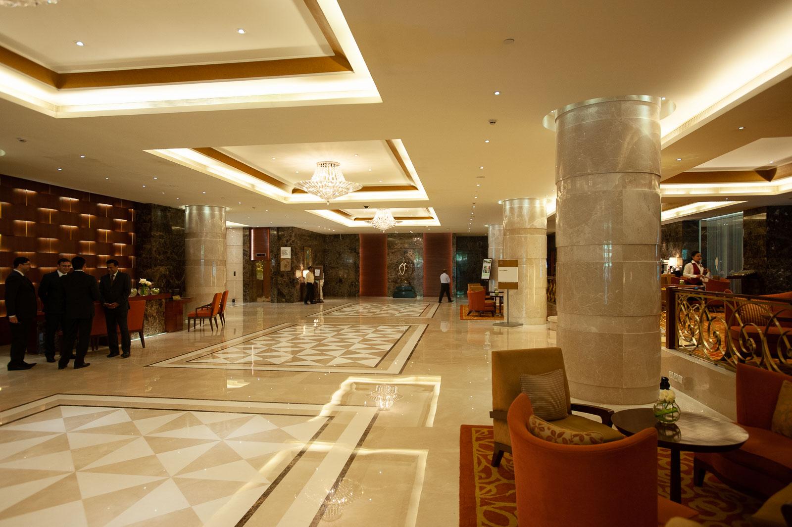Taj Coromandel lobby