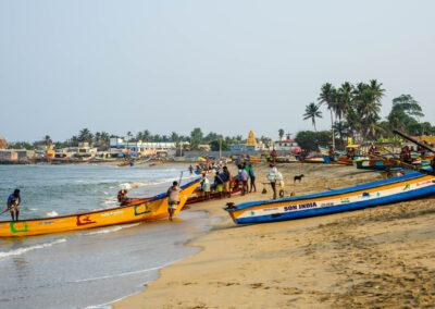 Fishermen at Chengalpattu.
