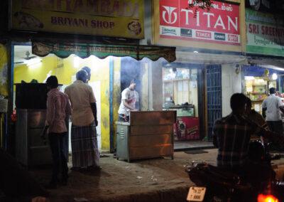 Food stall Chennai street