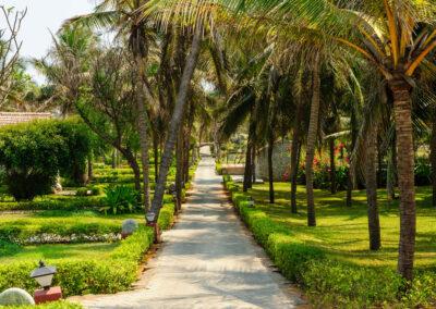 Garden, Taj Fisherman's Cove Resort
