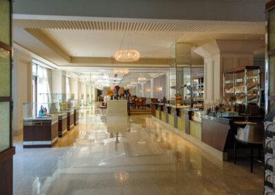 Leela Palace lobby, Chennai