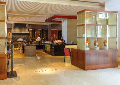 Spectra restaurant Leela Palace, Chennai