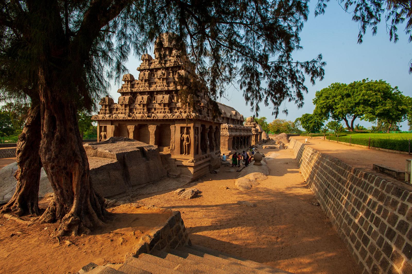 Stone Temple, Mamallapuram