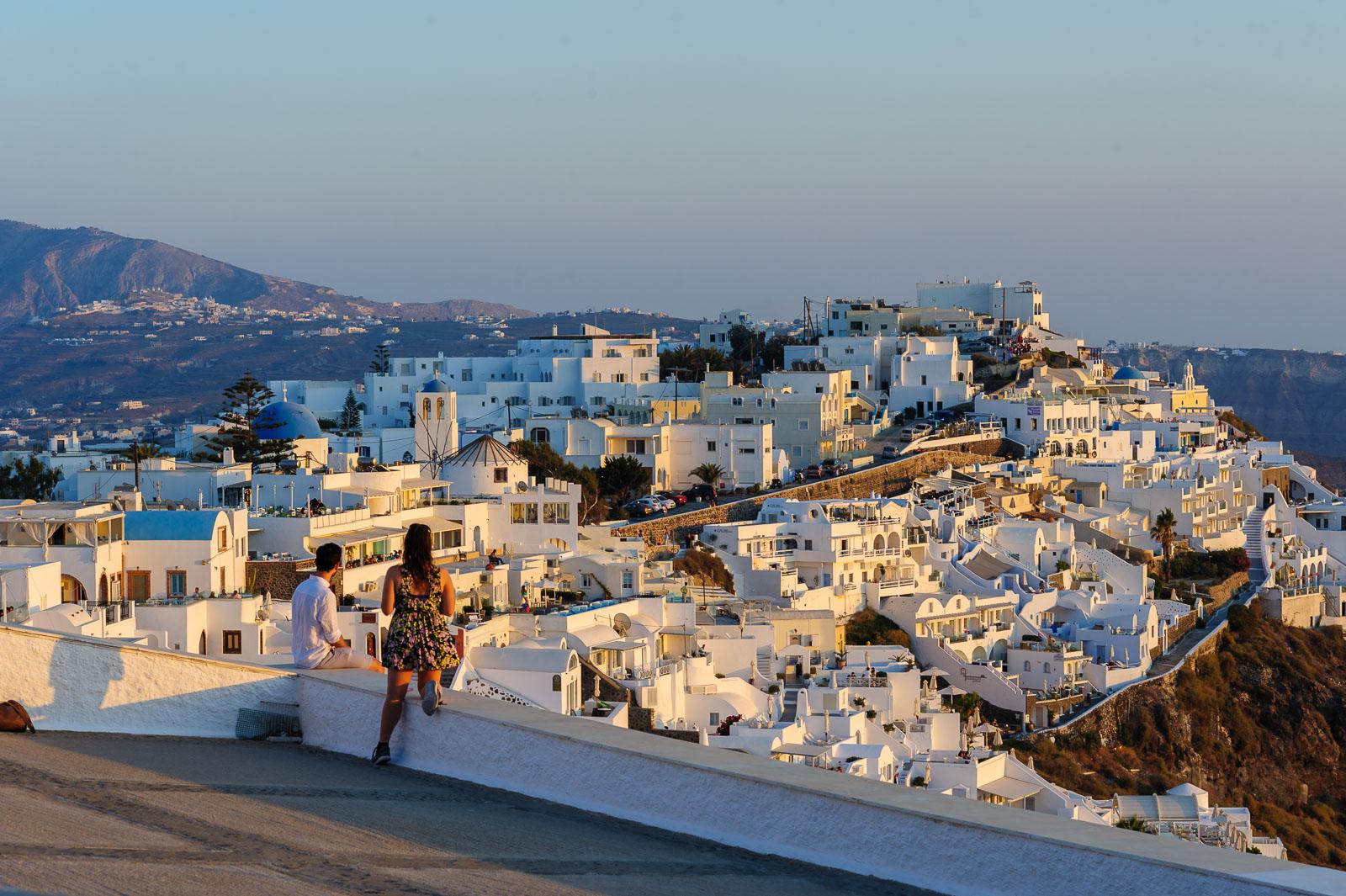 View over Caldera and Imerovigli