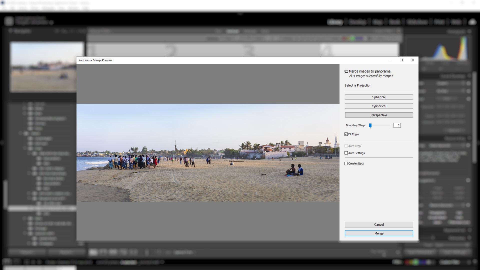 LR-Panorama-Merge-Preview