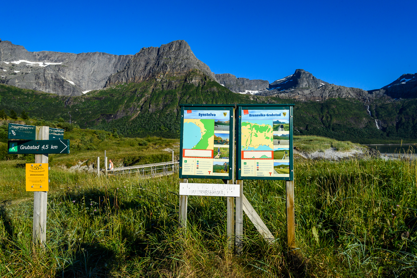 Brennviksanden Nature Reserve, Steigen