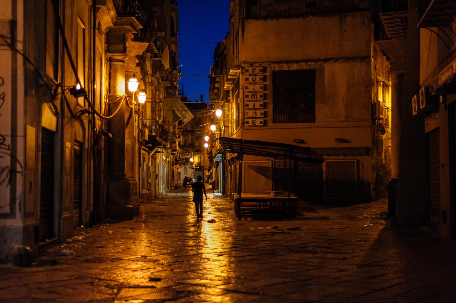 Palermo street 2014. Nikon D700 50mm @ f1.8, 1/160.